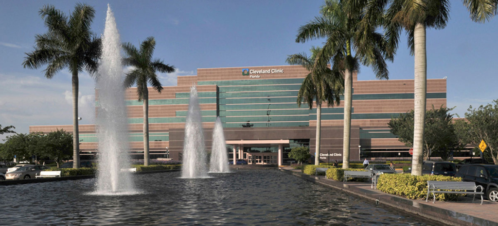 Cleveland Clinic Florida in Weston