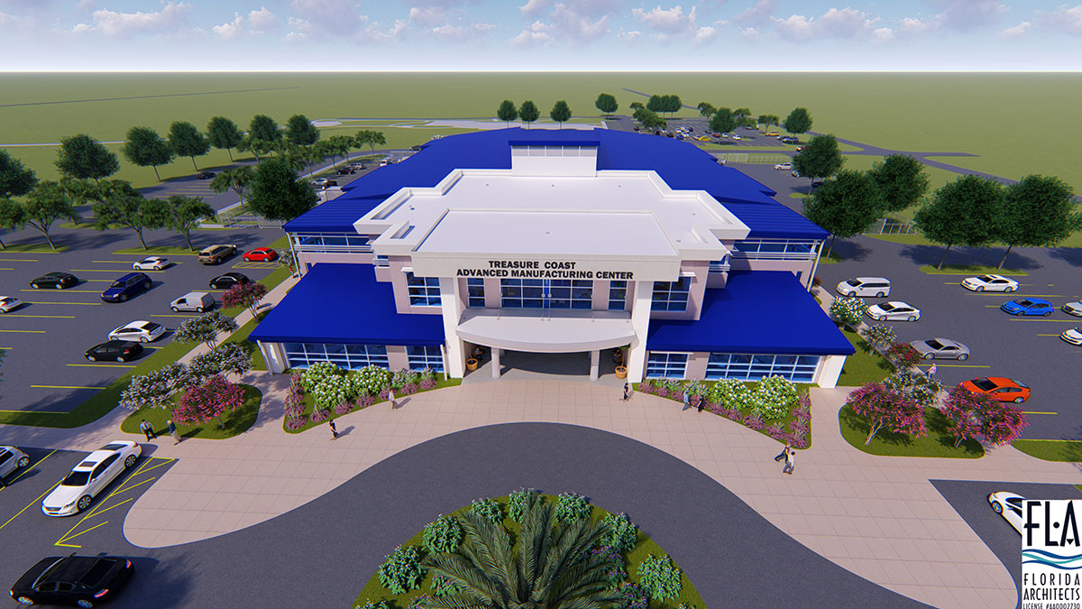 Indian River State College's planned Treasure Coast Advanced Manufacturing Center