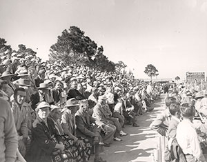 opening day in Vero in 1948