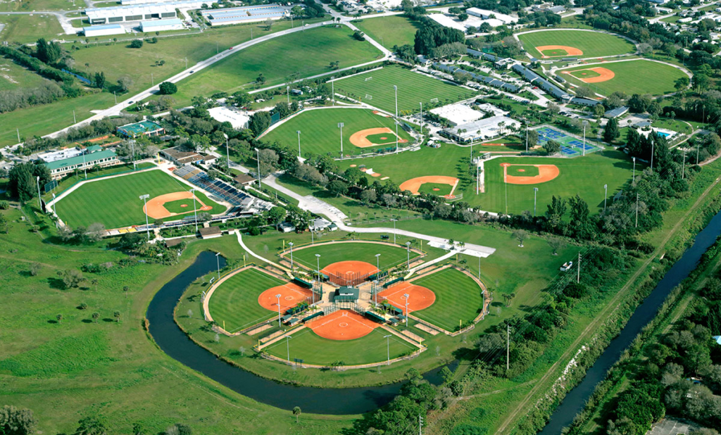 The Historic Dodgertown sports facility in Vero Beach