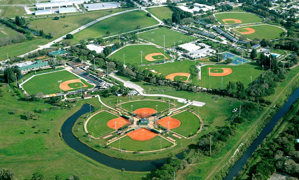 The Historic Dodgertown sports facility in Vero Beach